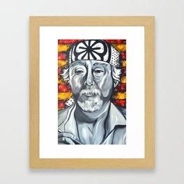 Mr. Miyagi Framed Art Print