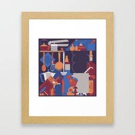 The Kitchen Framed Art Print