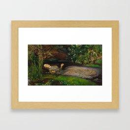 John Everett Millais - Ophelia Framed Art Print