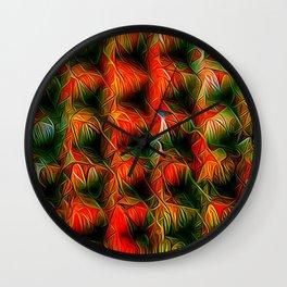 Formula XI Wall Clock