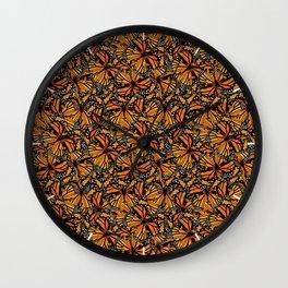 Monarch Butterflies Pattern | Butterfly Pattern | Wall Clock