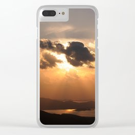 Sunset1 Clear iPhone Case