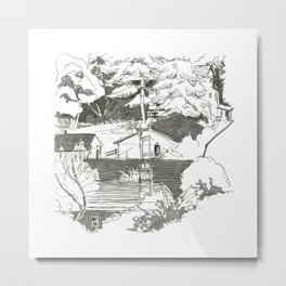 Balmore Park Landscapes - day 13 Metal Print