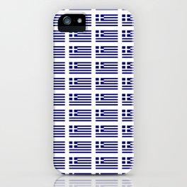 Flag of greece -Greek, Ελλάδα,hellas,hellenic, athens,sparte,aristotle. iPhone Case