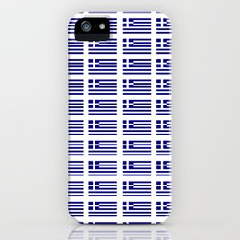 Flag of greece -Greek, Ελλάδα,hellas,hellenic, athens,sparte,aristotle. iPhone Case