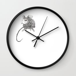Wee Beastie Wall Clock