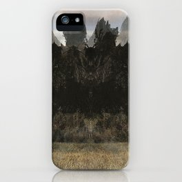 The Indian Ink Peaks 3 iPhone Case