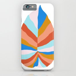 Camryn, rainbow leaf iPhone Case