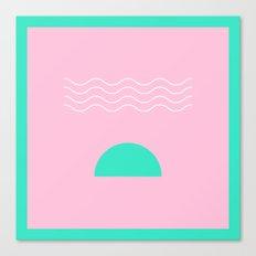 Pink Sunrise Canvas Print
