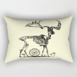 Gas Mask Deer Rectangular Pillow