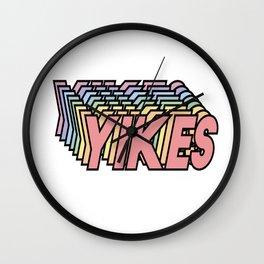 YIKES Wall Clock