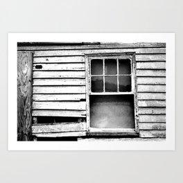 Window Treatment Art Print