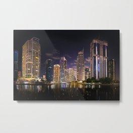Dubai City Metal Print