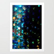 sparkle x fade Art Print