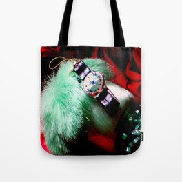 Time For Red And Green Stuff Tote Bag