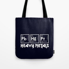 Heavy Metals Tote Bag