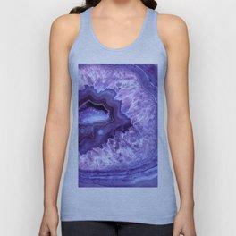 Purple Lavender Quartz Crystal Unisex Tank Top