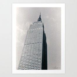 New York City 002 Art Print