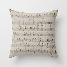 The Blue Danube Waltz  Throw Pillow