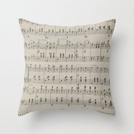 The Blue Danube Waltz Throw Pillow