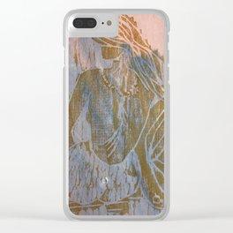 Buddha Mermaid Clear iPhone Case