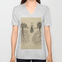Botanical Roots Unisex V-Neck