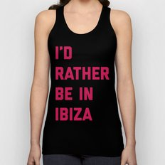 Be In Ibiza Music Quote Unisex Tank Top