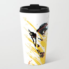 Street art yellow painting colors fashion Jacob's Paris Travel Mug