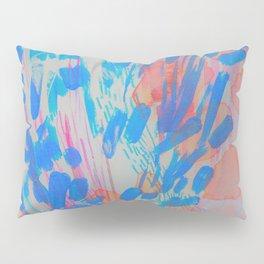 Blue Petal Surge Pillow Sham
