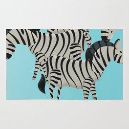 Visit the Zoo Zebra Rug