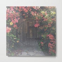 CIRCLE CELLAR DOOR Metal Print