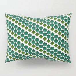 Green gems Pillow Sham