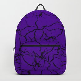 Purple Crackle Backpack