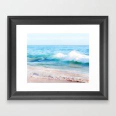 Aquamarine Dreams 1 Framed Art Print