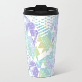 Abstract ethnic pattern in pastel colors. Travel Mug