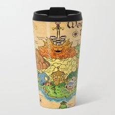 World Map - Mario RPG Metal Travel Mug