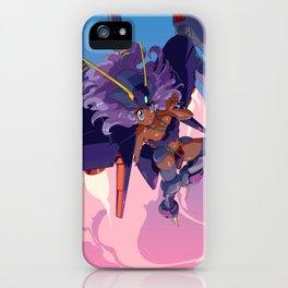 Ms. Byarlant Gundam Girl iPhone Case