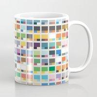 pantone Mugs featuring Complete Poke-Pantone  by Zeke Tucker