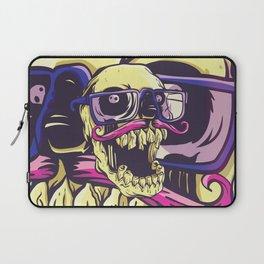 Colorful skull Laptop Sleeve