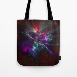 Burst of Confusion Tote Bag