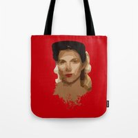 jewish Tote Bags featuring Jewish Vengeance by Ashley