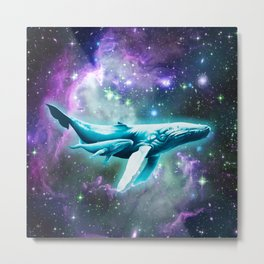 Whales for Annelle Metal Print