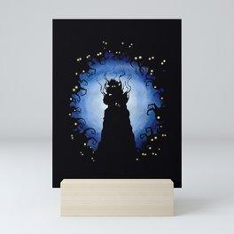 Deep heartless Mini Art Print