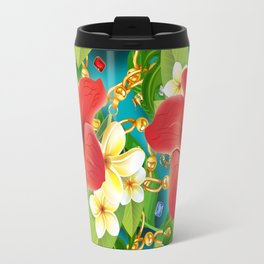 tropical color party  Travel Mug