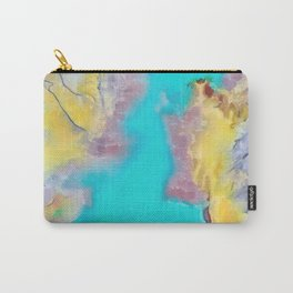 The Sherbet Sea Carry-All Pouch