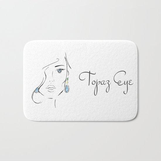 Topaz eye Bath Mat