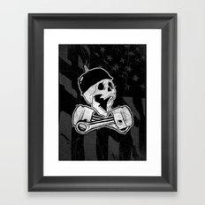 666% Framed Art Print