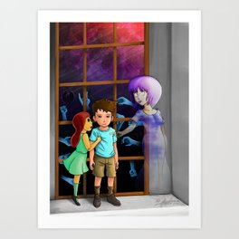 The Hands Can't Resist Him Art Print