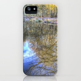 Peaceful Pond Reflections  iPhone Case