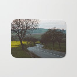 Along a rural road - Landscape and Nature Photography Bath Mat